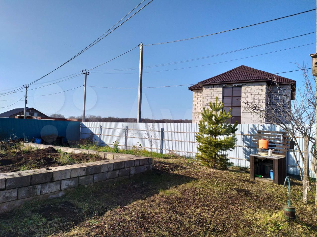 House 25 m2 on a plot of 5 hundred.