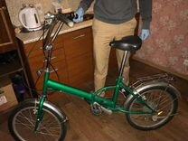 Складной велосипед «аист»