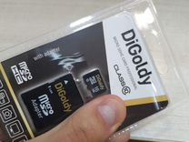 Карта памяти MicroSD 16gb 10class