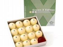 Шары бильярдные 68 мм crown X edition