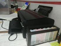 Цветной принтер с снпч 6 цветов