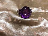 Эксклюзивные кольца с аметистом и сапфиром